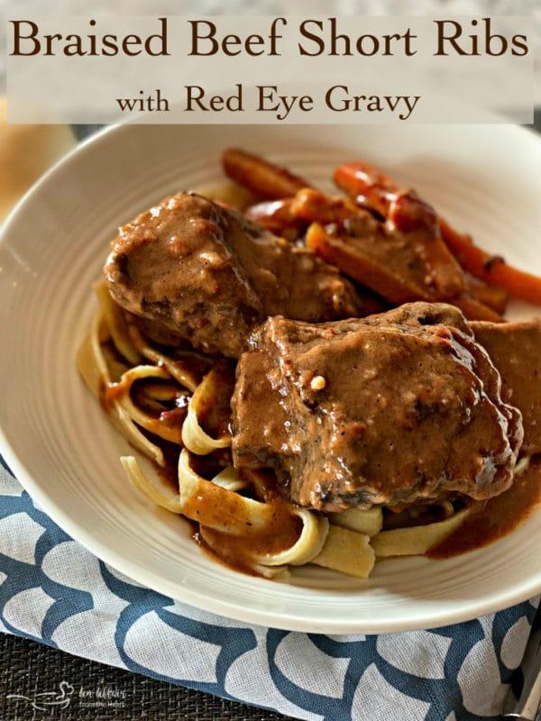 Braised Beef Short Ribs with Red Eye Gravy HERO