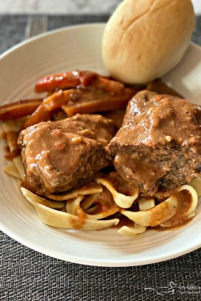 Braised Beef Short Ribs with Red Eye Gravy