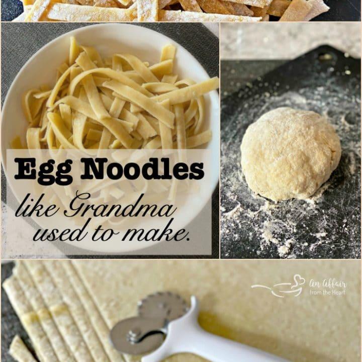 Homemade Egg Noodles Like Mom And Grandma Used To Make