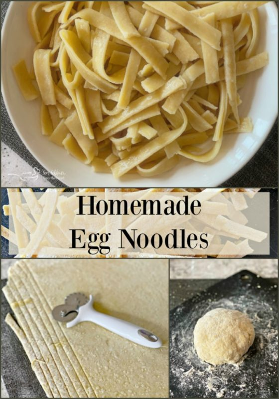 Homemade Egg Noodles - An Affair from the Heart