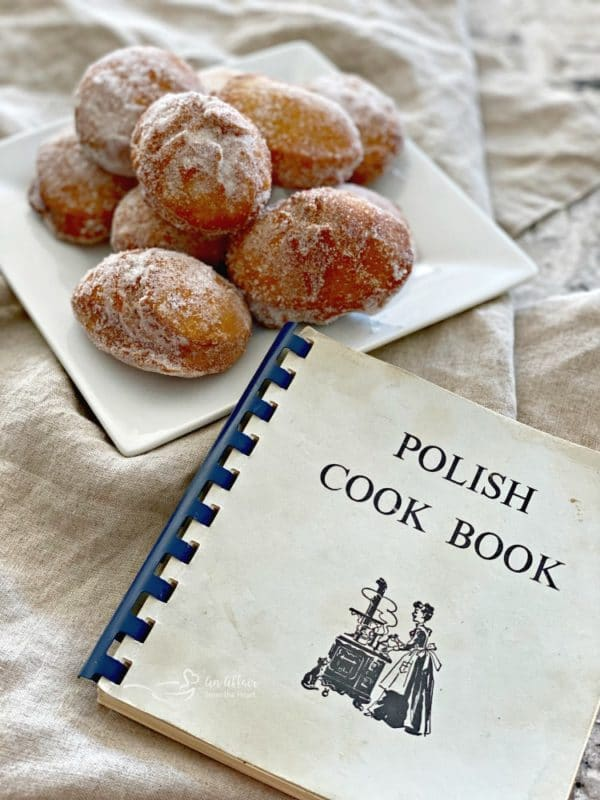 Pączki - Polish Donuts Polish Cookbook