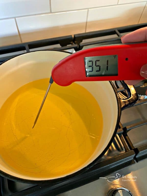 Thermapen Instant Thermometer for oil