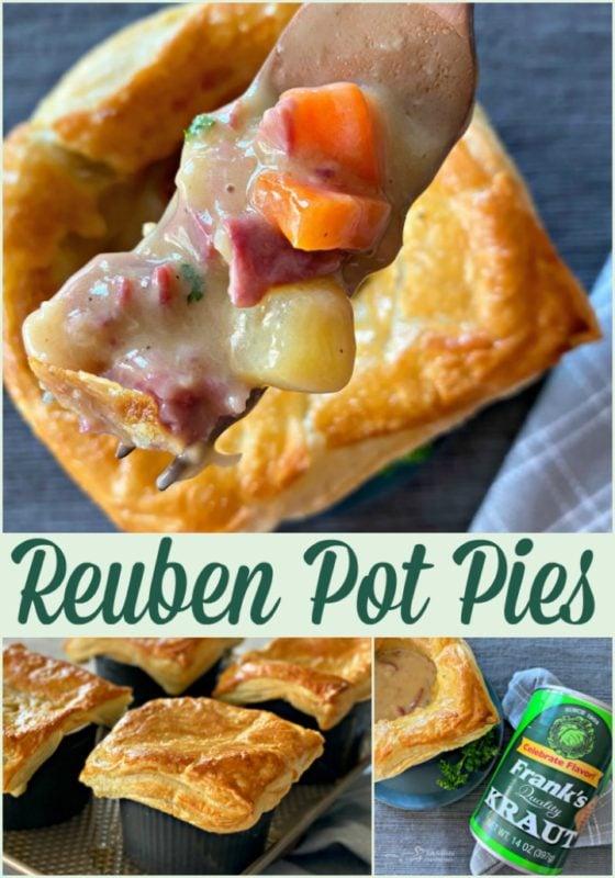 Reuben Pot Pies - An Affair from the Heart