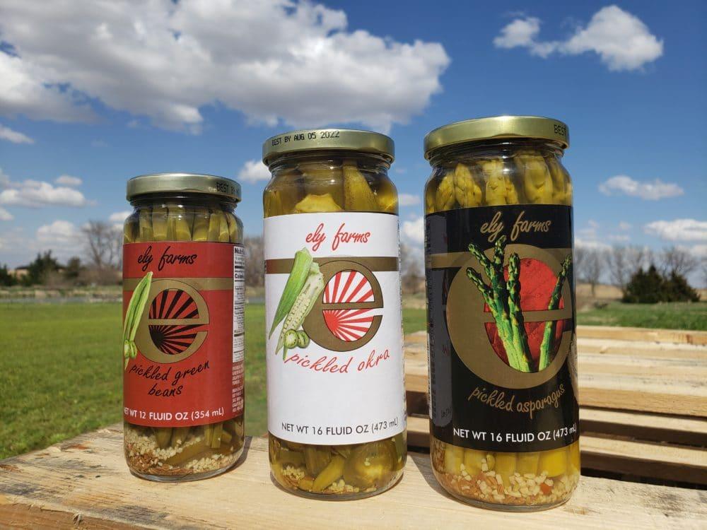 3 Jars of Ely Farms Veggies