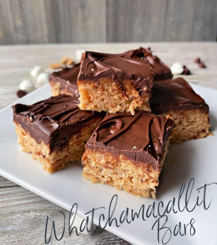 plated Whatchamacallit Bars