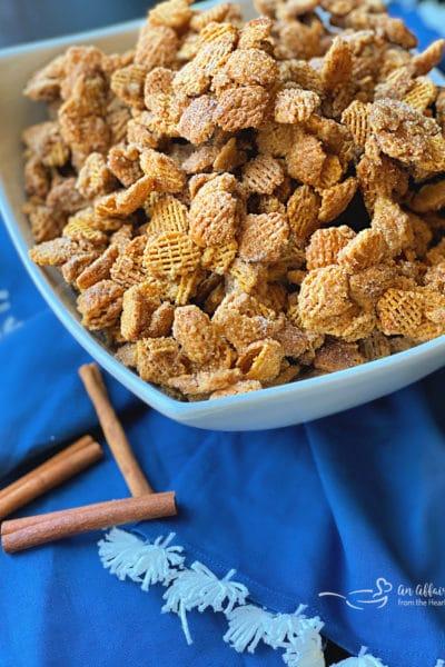 Caramel Churro Chex Mix Recipe