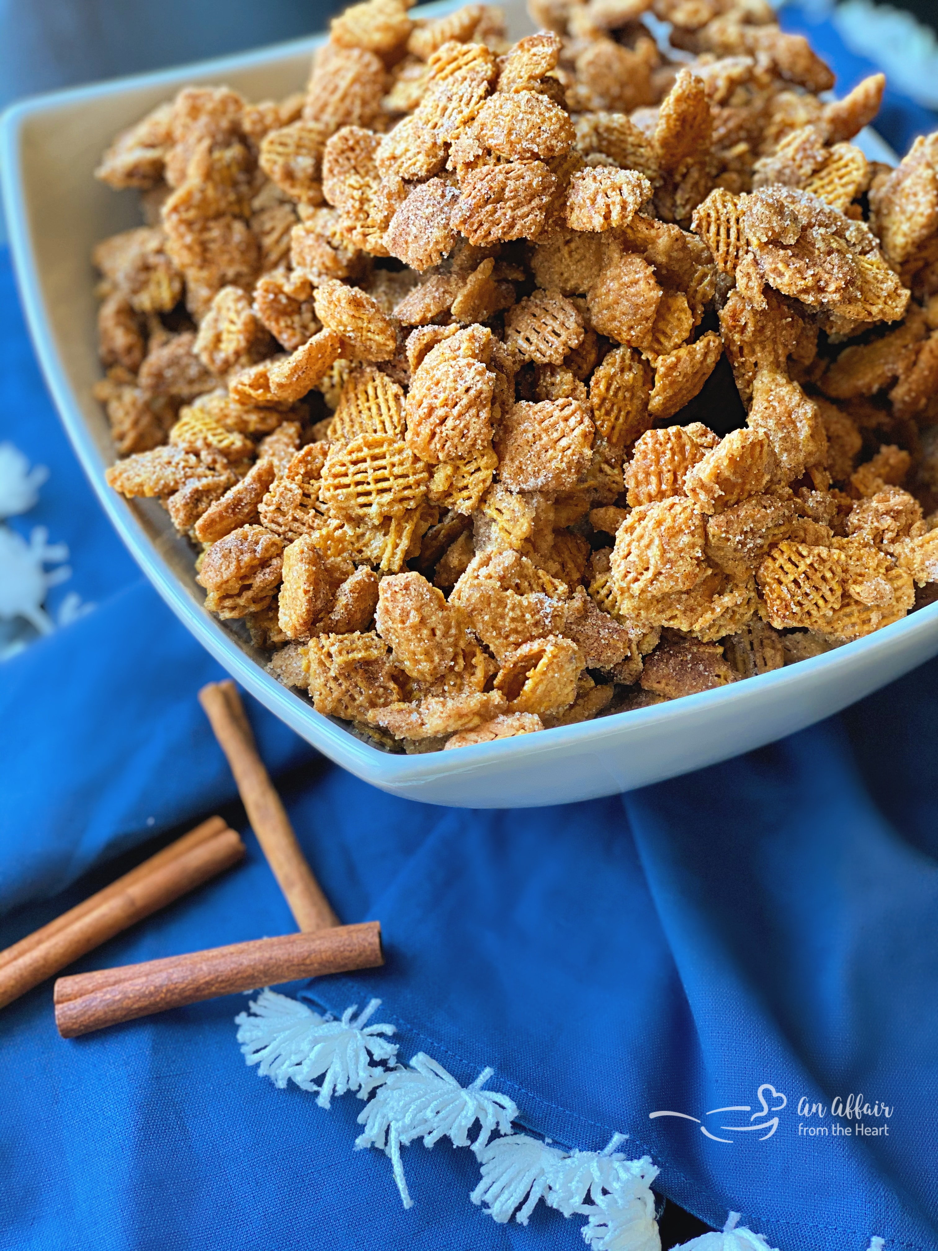 Caramel Churro Chex Mix The Sweet Party Mix Your Life Is Missing