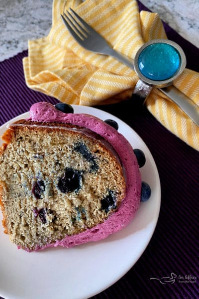 Blueberry Banana Bundt Cake
