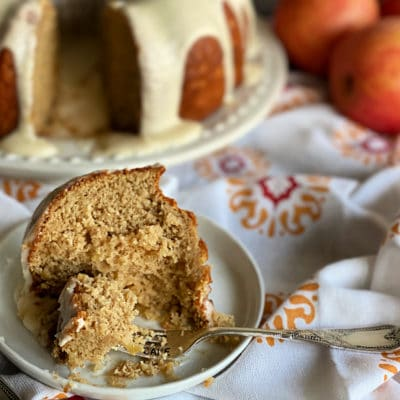 Caramel Apple Tea Cake