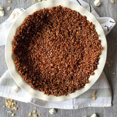 Chocolate Marshmallow Pie Crust