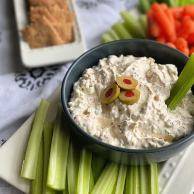 Olive Dip (Old Fashioned Stuffed Celery Dip)