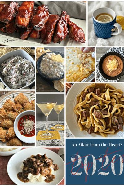 Top 10 Recipes of 2020