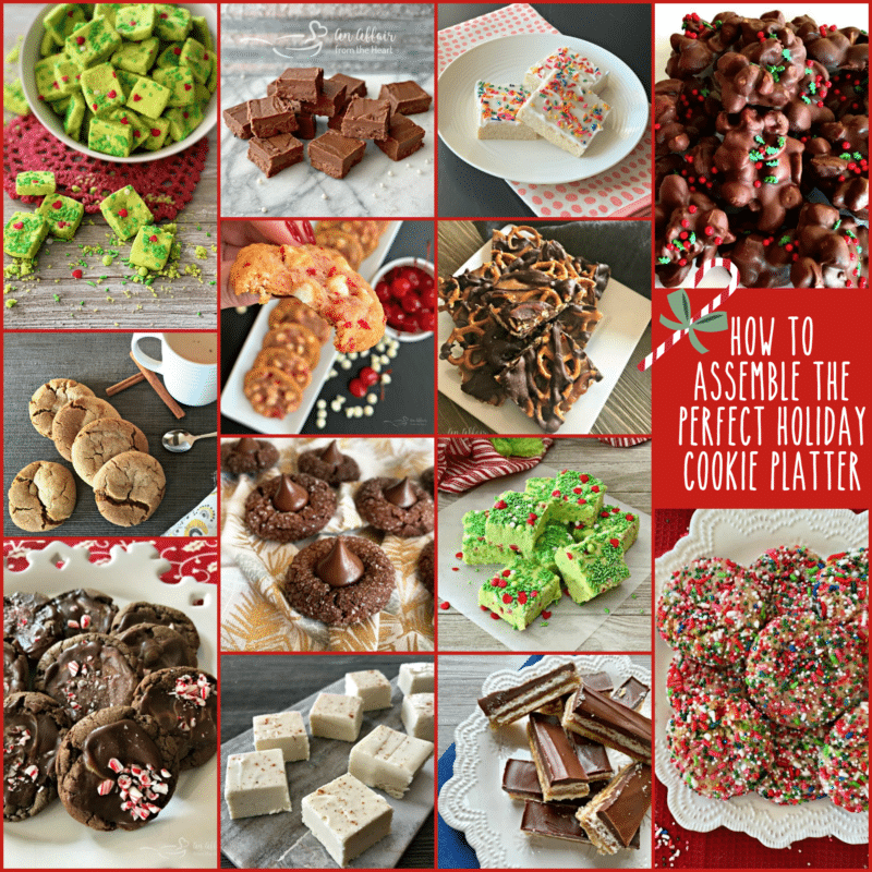 How to Assemble the Perfect Holiday Cookie Platter assortment of cookie recipes