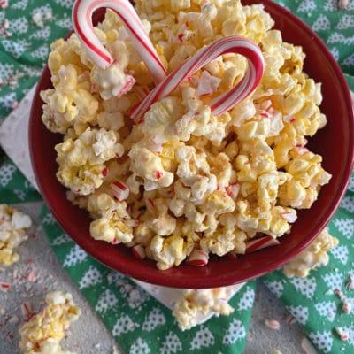 Peppermint Bark Popcorn
