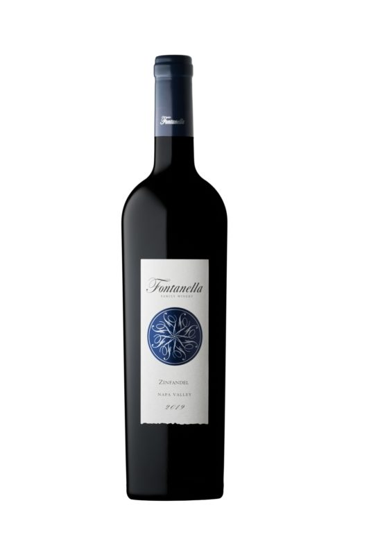 Front view of Fontanella wine