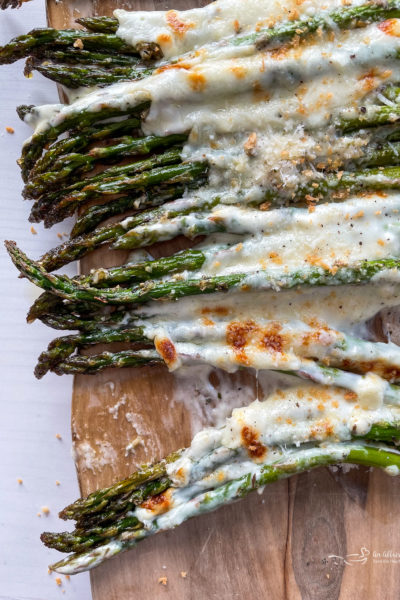 Garlic Cheese Asparagus