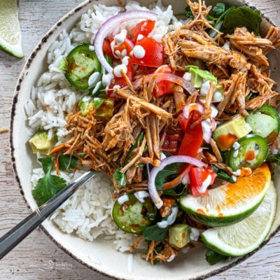Slow Cooker Cilantro Lime Pork