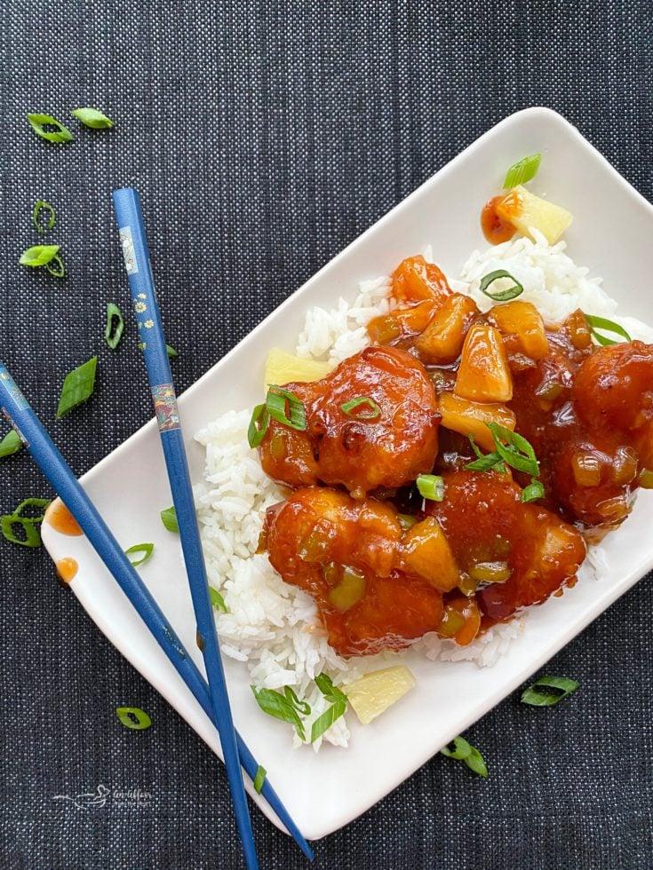 Easy Sweet & Sour Chicken Recipe