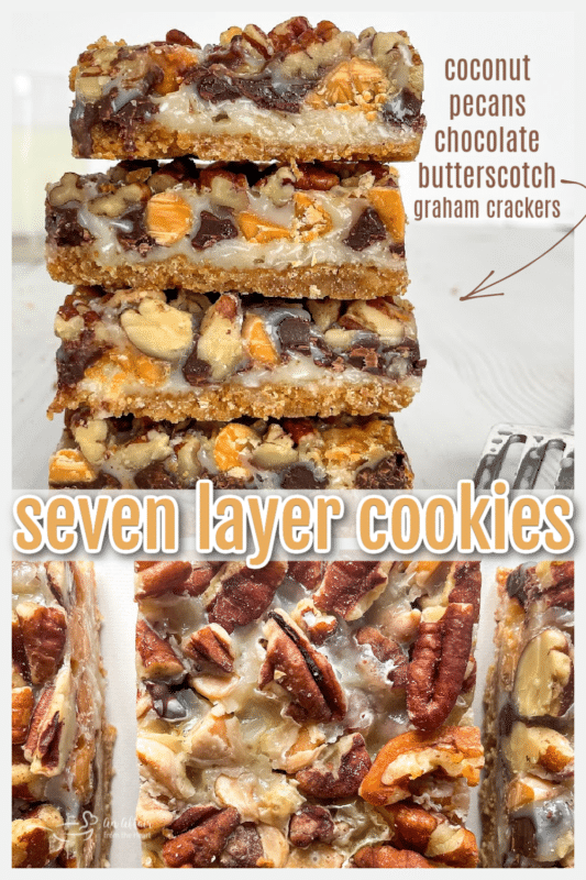 seven layer cookies graphic