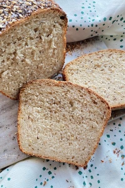Everything Sauerkraut Bread