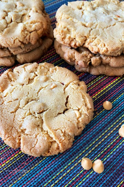 Giant Butterscotch Cookies