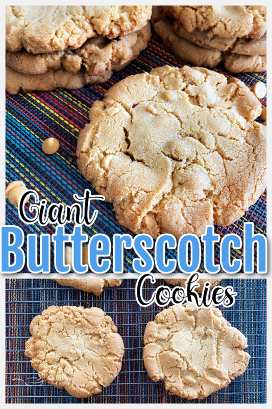 graphic for butterscotch cookies