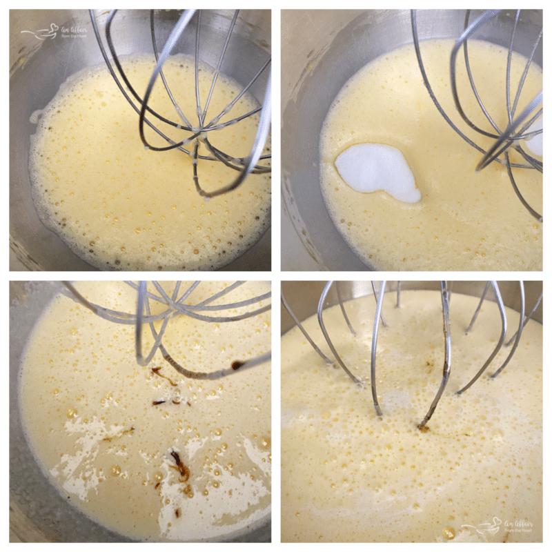stirring vanilla ice cream ingredients
