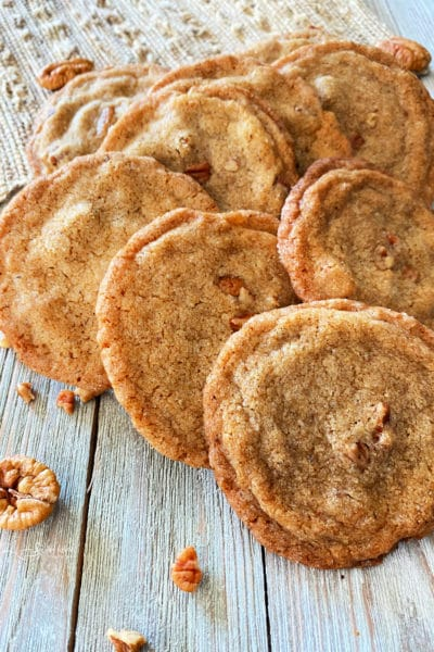 Pecan Butter Cookies